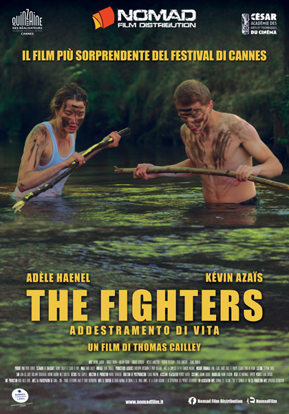 Locandina italiana The Fighters - Addestramento di vita