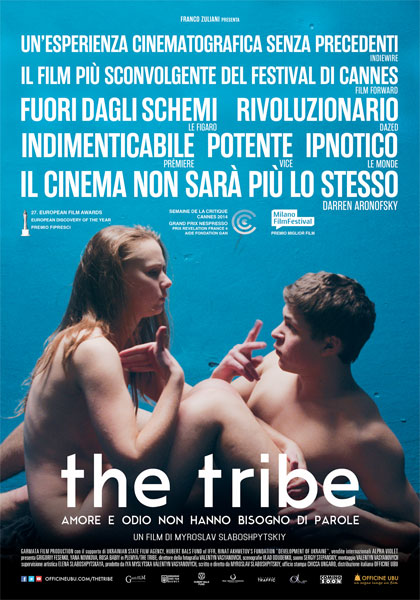 Locandina italiana The Tribe