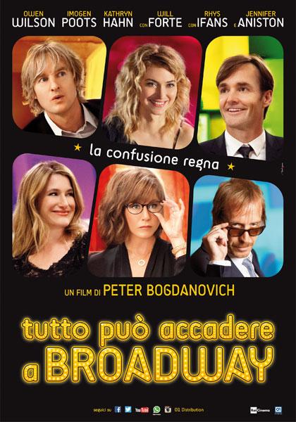 Locandina italiana Tutto può accadere a Broadway