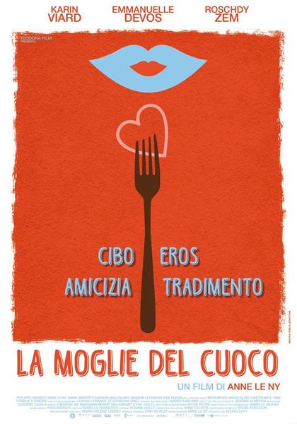 Locandina italiana La moglie del cuoco