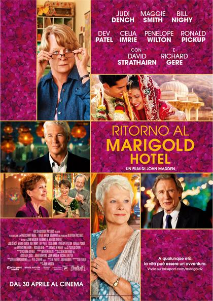 Locandina italiana Ritorno al Marigold Hotel