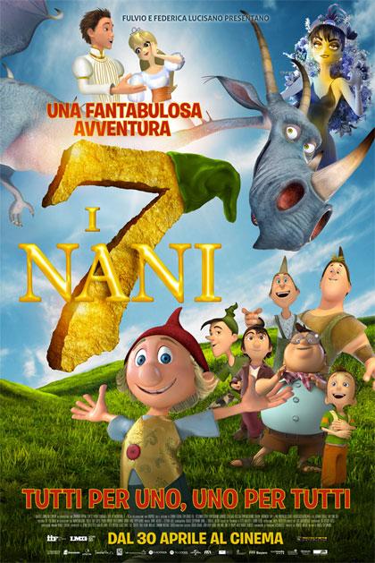 Locandina italiana I 7 nani