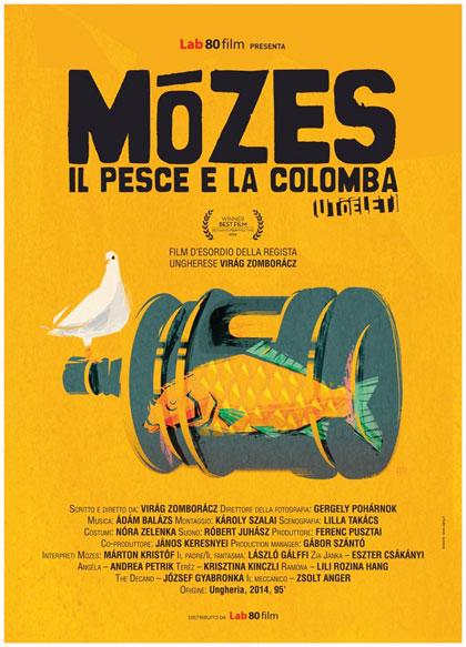 Locandina italiana Mózes, il pesce e la colomba