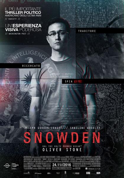 Locandina italiana Snowden