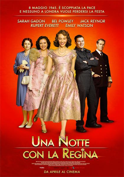 Locandina italiana Una notte con la Regina