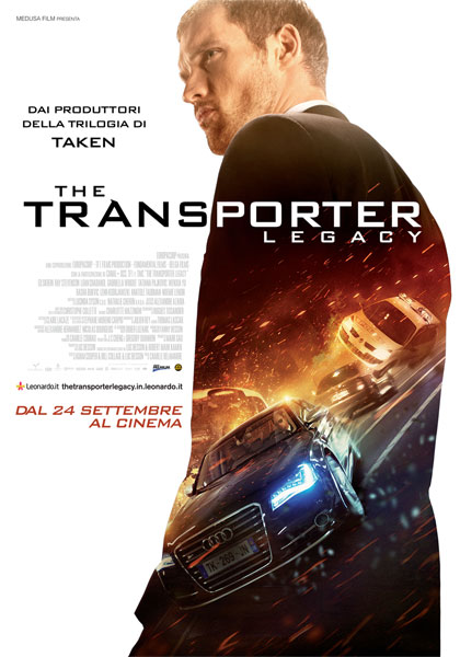 Locandina italiana The Transporter Legacy