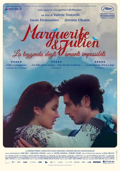 Locandina italiana Marguerite e Julien - La leggenda degli amanti impossibili
