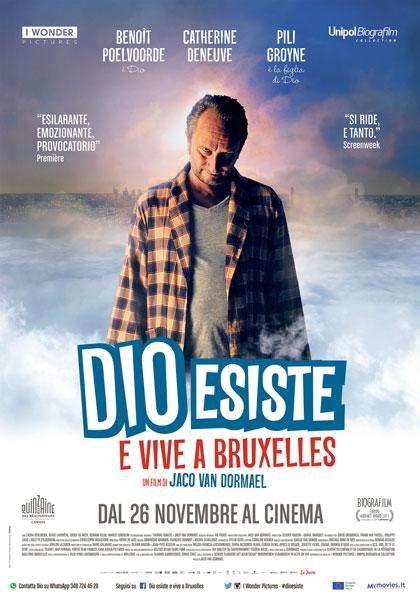 Locandina italiana Dio esiste e vive a Bruxelles