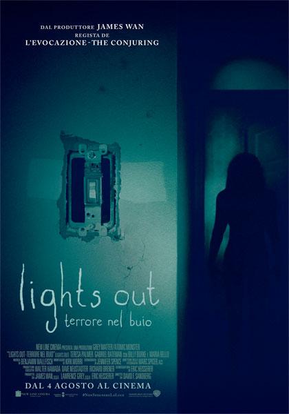 Locandina italiana Lights Out - Terrore nel buio