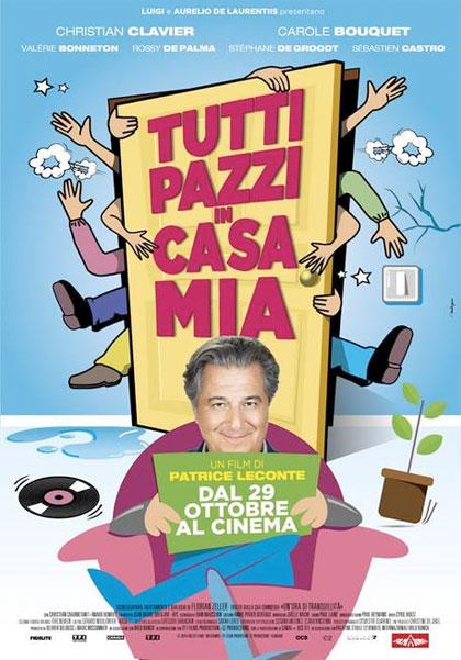 Locandina italiana Tutti pazzi in casa mia