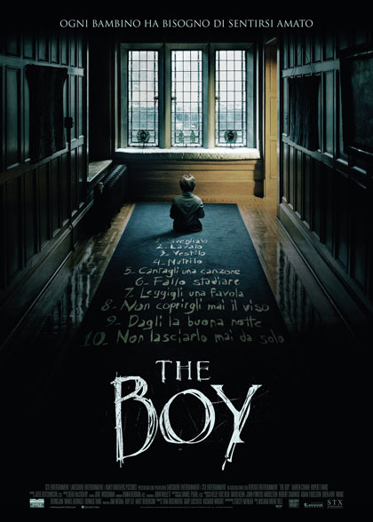 Locandina italiana The Boy