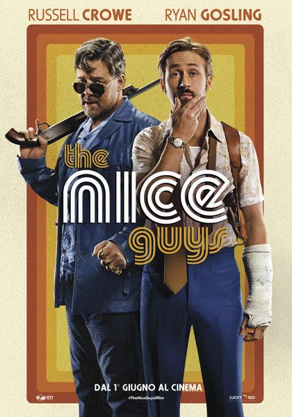 Locandina italiana The Nice Guys