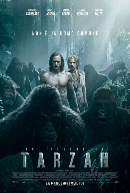 Locandina italiana The Legend of Tarzan
