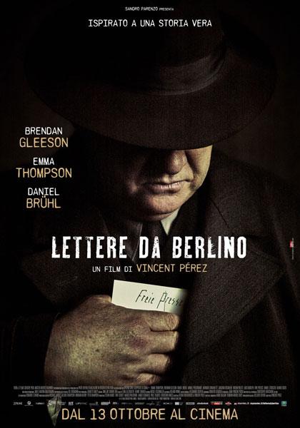 Locandina italiana Lettere da Berlino