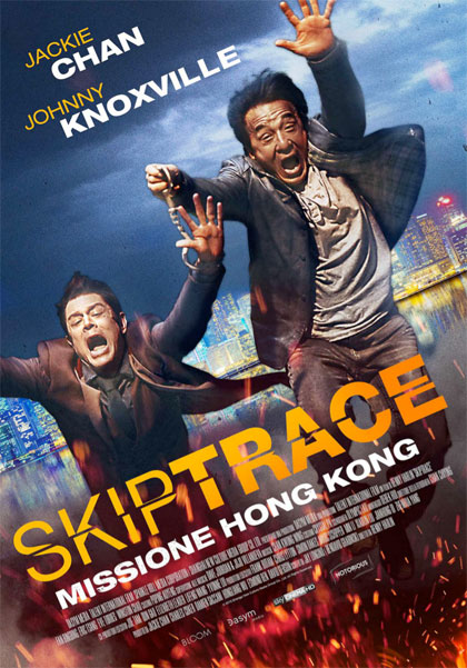 Locandina italiana Skiptrace - Missione Hong Kong