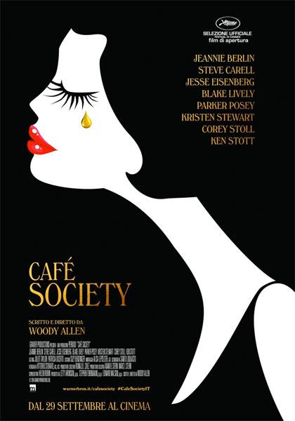 Locandina italiana Café Society