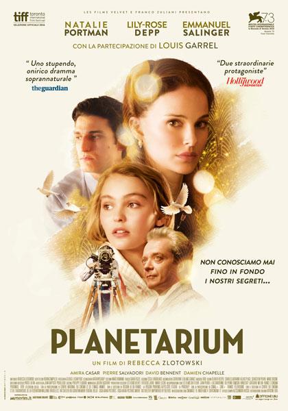 Locandina italiana Planetarium