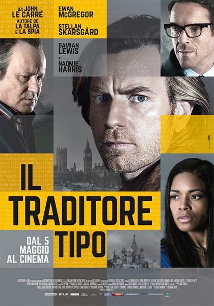 Locandina italiana Il traditore tipo