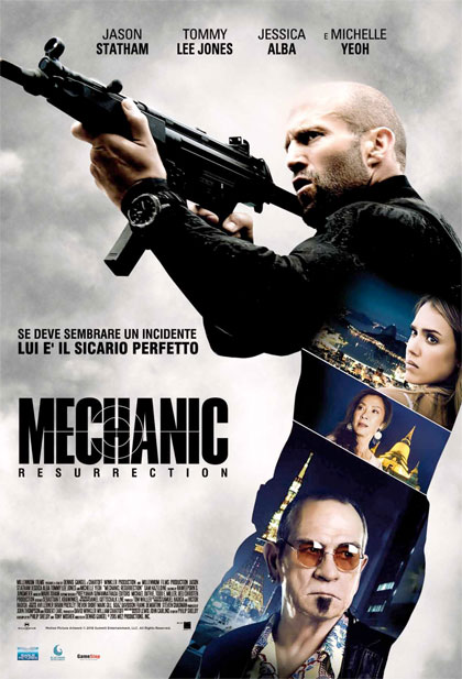Locandina italiana Mechanic: Resurrection