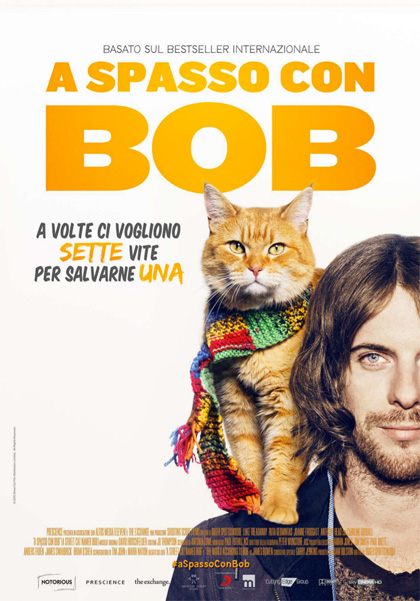 Locandina italiana A spasso con Bob