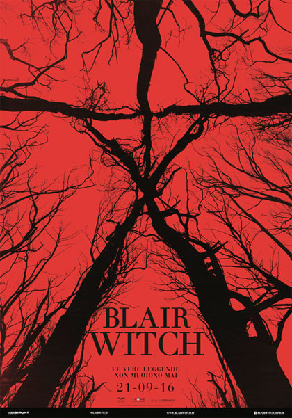 Locandina italiana Blair Witch