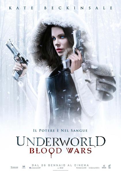 Locandina italiana Underworld - Blood Wars