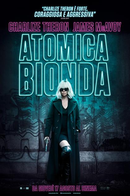 Locandina italiana Atomica bionda