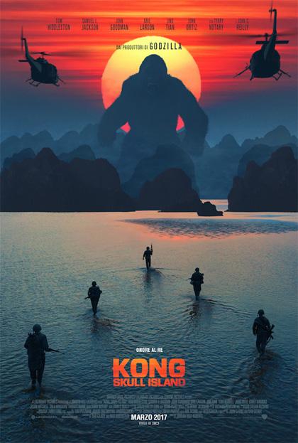 Locandina italiana Kong: Skull Island