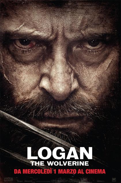 Locandina italiana Logan - The Wolverine