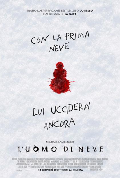 Locandina italiana L'uomo di neve