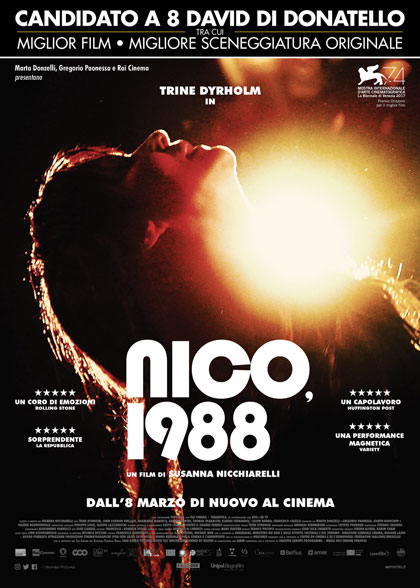 Locandina italiana Nico, 1988