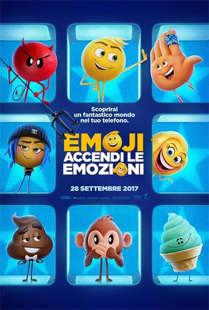Locandina italiana Emoji - Accendi le Emozioni