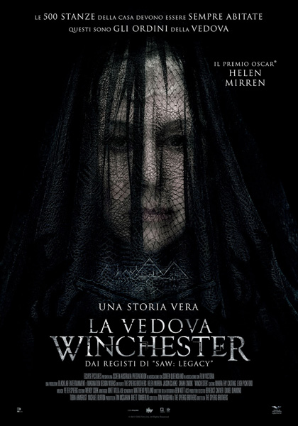 Locandina italiana La vedova Winchester