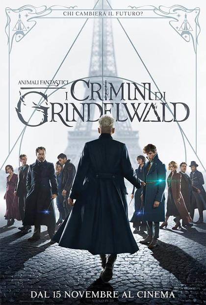 Locandina italiana Animali Fantastici - I Crimini di Grindelwald