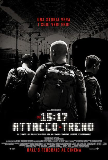 Locandina italiana Ore 15:17 - Attacco al treno