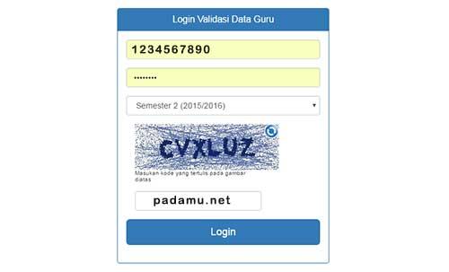 Cek Info PTK dan SKTP