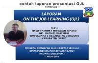 laporan-presentasi-on-the-job-learning-ojl