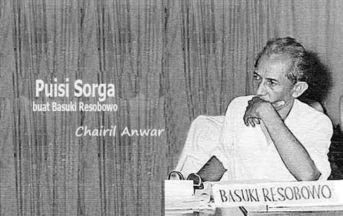 Puisi Sorga Karya Chairil Anwar