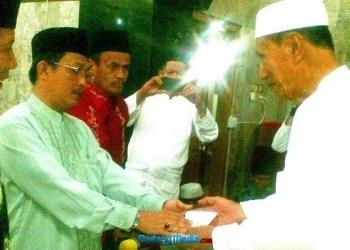 TSR Pemko Padang ke Masjid Muhsinin Rimbo Kaluang.