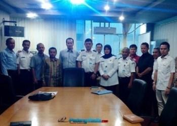 Komisi III DPRD Padang mengunjungi Dirjen Transportasi Kemenhub RI. (ist)