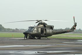 Helikopter jenis Helly Bell 412 (ilustrasi/ sumber: wikipedia)