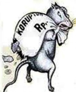 korupsi ilustrasi