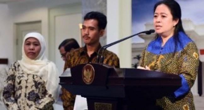 Menko Bidang PMK memberikan keterangan pers usai mengikuti Rapat Terbatas di Kantor Presiden, Jakarta (11/5). (Foto: setkab.go.id)