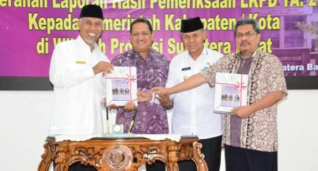 LHP BPK RI untuk Kota Padang