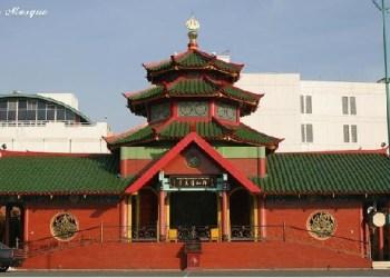 Masjid Muhammad Cheng Ho yang ada di Kota Surabaya. (net)