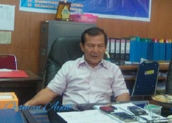 Anggota DPRD Padang, Oesman Ayub. (baim)