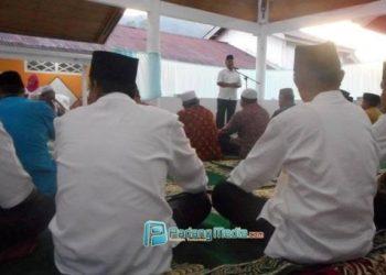 Tim safari Ramadhan Pemko Sawahlunto akan mengunjungi masjid dan mushala. (tumpak)