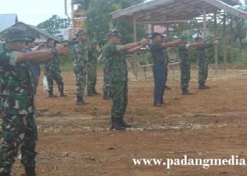 Lokasi latihan menembak di lapangan tembak Perbakin km.9 Kec. Sipora Utara, Kab. Kepulauan Mentawai. (ers)