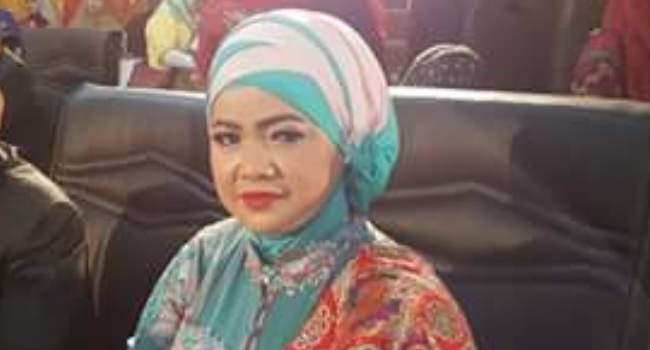 Ketua Fraksi Nasdem DPRD Padang Meilinda Rose. (baim)