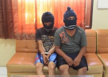 Dua pengedar sabu-sabu ditangkap Polres Agam. (fajar)